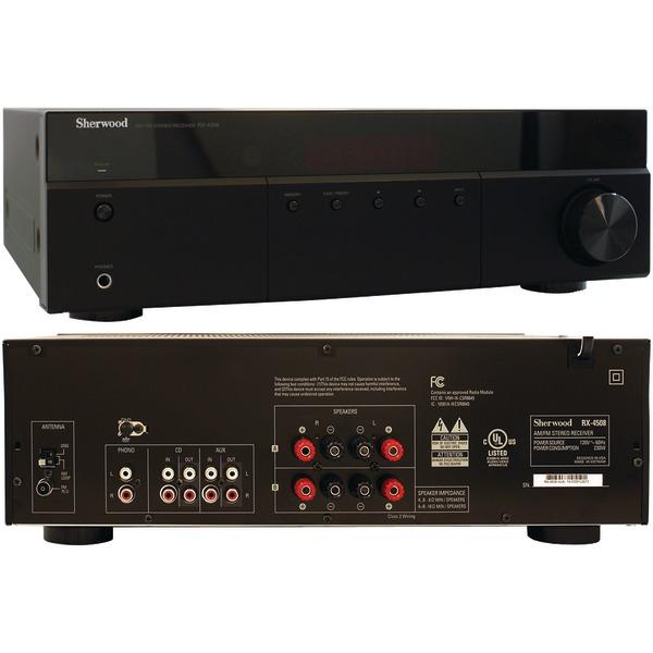 Sherwood(R) RX-4508 200-Watt AM/FM Stereo Receiver with Bluetooth(R)
