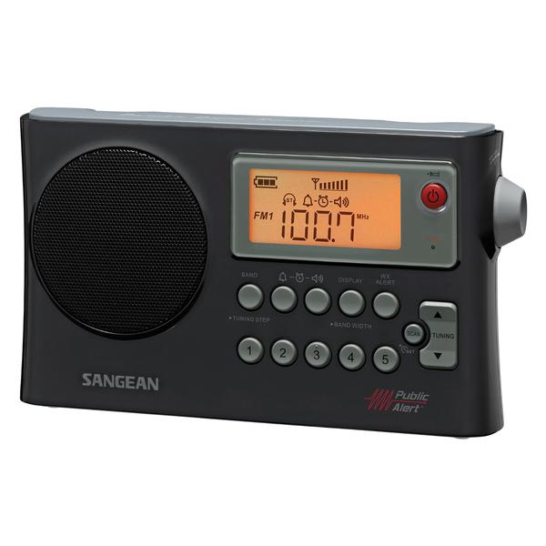 Sangean PR-D4W AM/FM Weather Alert Portable Radio