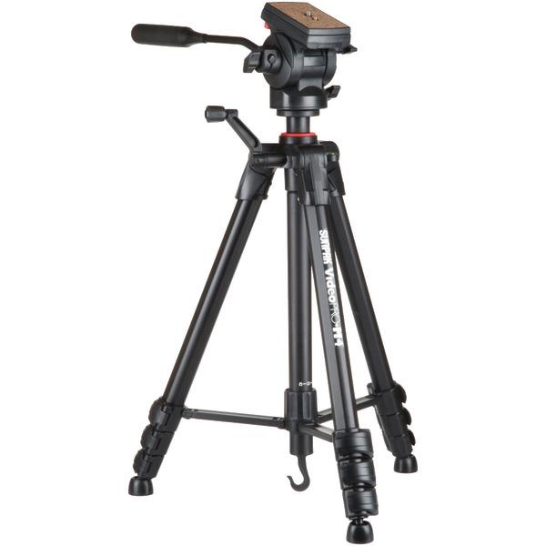 Sunpak(R) 620-840 Video Pro-M 4 Tripod with Fluid Head