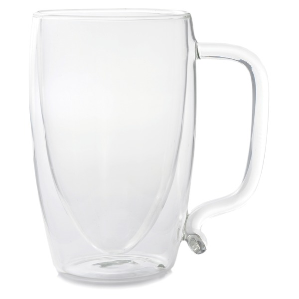 Starfrit(R) 080061-006-0000 17-Ounce Double-Wall Glass Beer Mug