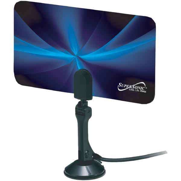 Supersonic(R) SC-607 HDTV Flat Digital Indoor Antenna