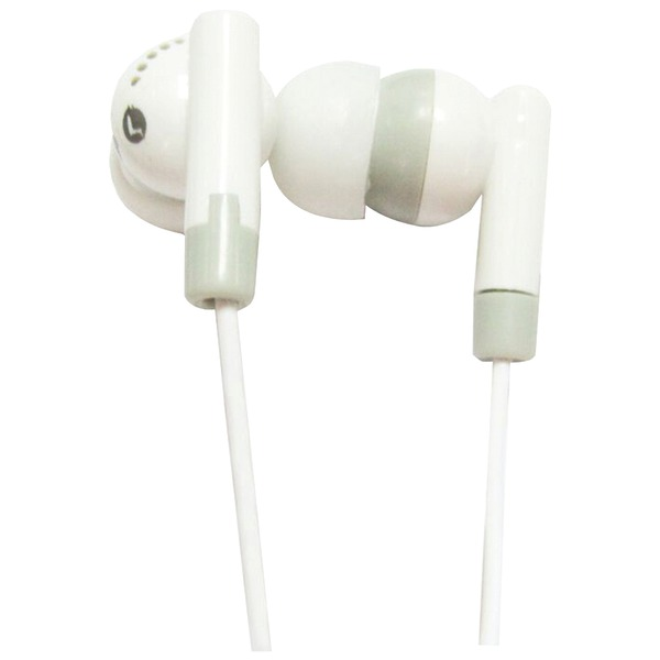 Supersonic(R) IQ-101 WHITE IQ-101 Digital Stereo Earphones (White)
