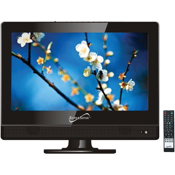 """Supersonic(R) SC-1311 13.3"""" 720p LED TV, AC/DC Compatible for RV/Boat"""