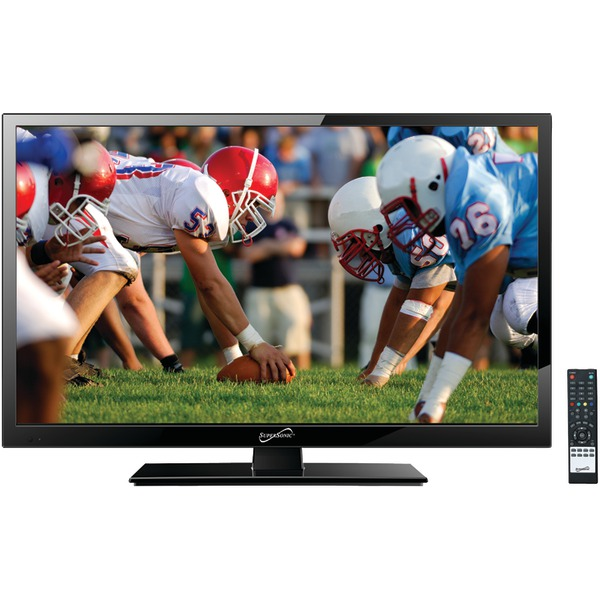 """Supersonic(R) SC-1911 19"""" 720p LED TV, AC/DC Compatible with RV/Boat"""