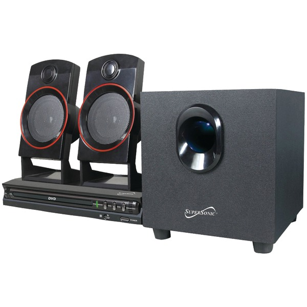 Supersonic(R) SC-35HT 2.1-Channel DVD Home Theater System