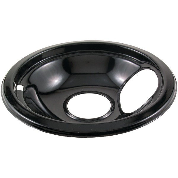 "Stanco Metal Products 415-6 Black Porcelain Replacement Drip Pan (6"")"