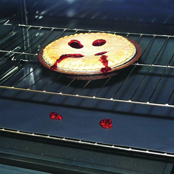 "Stanco Metal Products 60023002 Nonstick Oven Liner (Ovens up to 30"")"