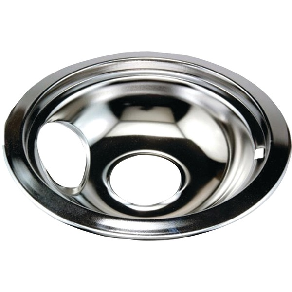 "Stanco Metal Products 750-8 Chrome Replacement Drip Pan for Whirlpool(R) (8"")"