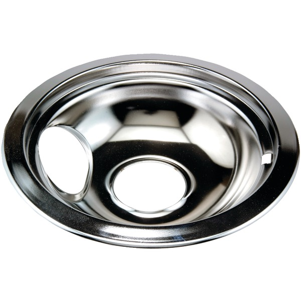 "Stanco Metal Products 751-6 Chrome Replacement Drip Pan for Whirlpool(R) (6"")"