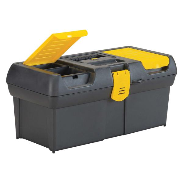 STANLEY(R) 016011R 2-Lid Organizer Tool Box