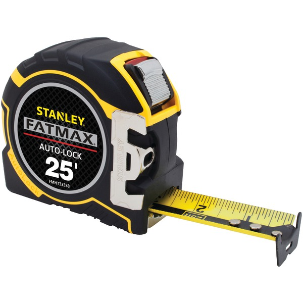 STANLEY(R) FMHT33338L FATMAX(R) 25ft Auto-Lock Tape Measure