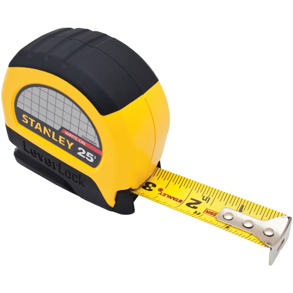 STANLEY(R) STHT30825 LeverLock(R) 25ft Tape Rule Measure