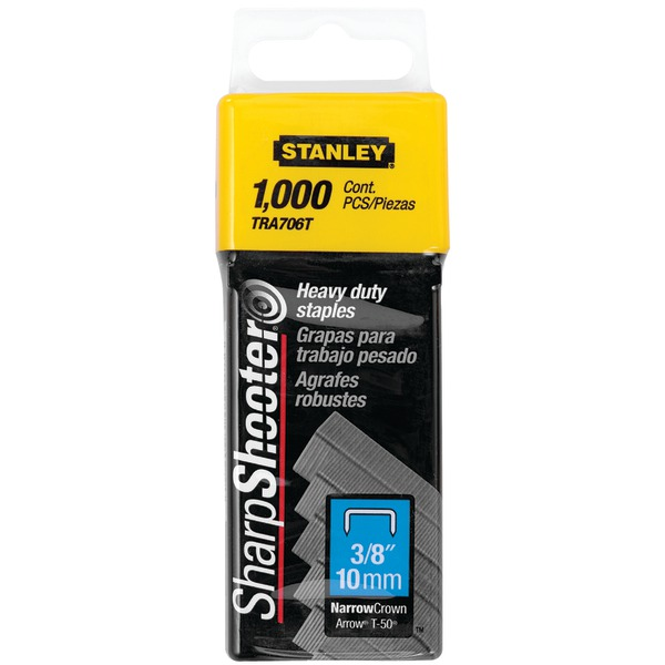 "STANLEY(R) TRA706T/RTO-041 3/8"" Heavy-Duty Staples"