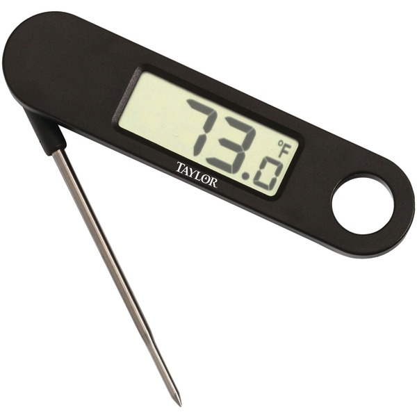 Taylor(R) Precision Products 1476 Digital Folding Probe Thermometer