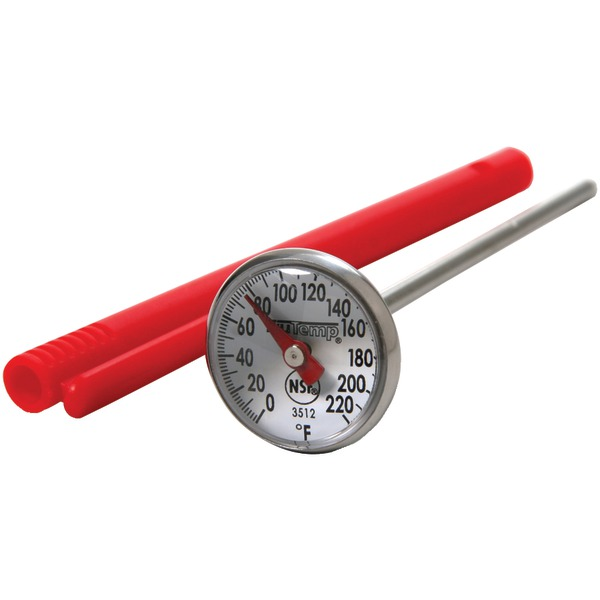 """Taylor(R) Precision Products 3512 Instant-Read 1"""" Dial Thermometer"""