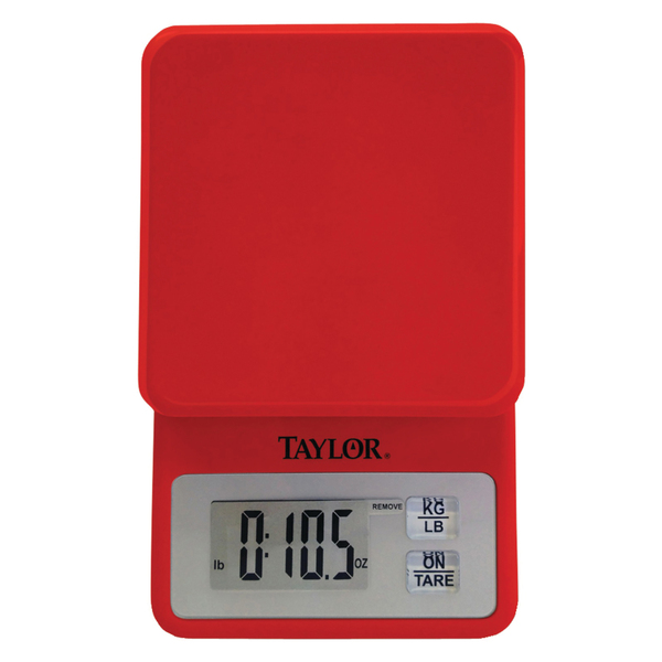 Taylor(R) Precision Products 3817R 11lb-Capacity Compact Kitchen Scale