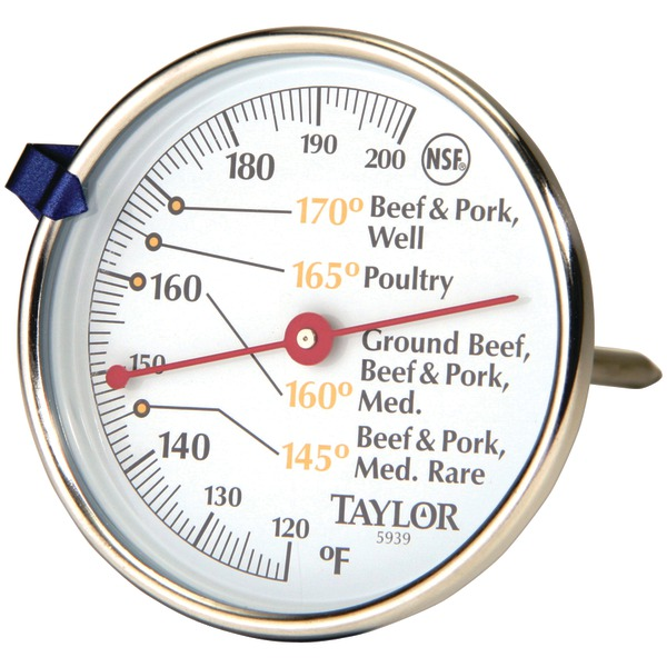 Taylor(R) Precision Products 5939N Meat Dial Thermometer