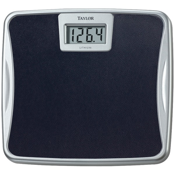 Taylor(R) Precision Products 73294072 Silver Platform Lithium Electronic Digital Scale