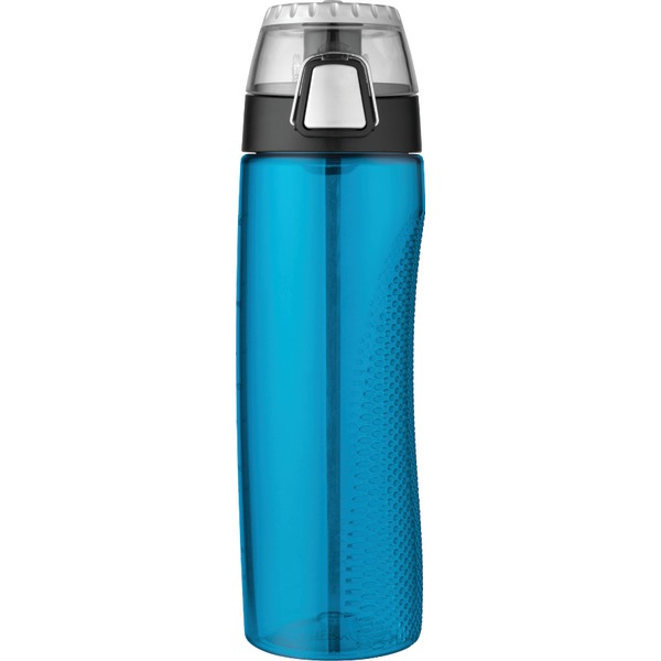 Thermos(R) HP4100TLTRI6 24-Ounce Tritan Hydration Bottle with Meter (Teal)