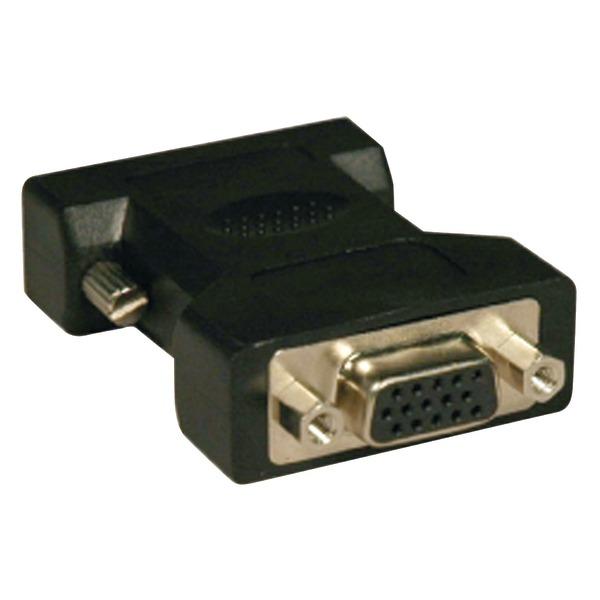 Tripp Lite(R) P120-000 DVI to VGA Cable Adapter (DVI-I Analog Male to VGA HD15 Female)