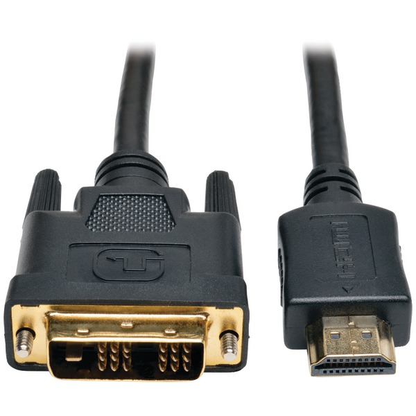 Tripp Lite(R) P566-006 HDMI(R) to DVI Digital Monitor Adapter Video Cable, 6ft