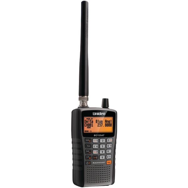 Uniden(R) BC125AT Bearcat Handheld Scanner
