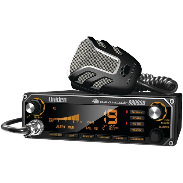 Uniden(R) BEARCAT 980SSB CB Radio with SSB