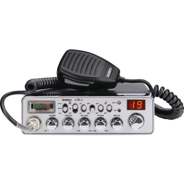 Uniden(R) PC78LTX 40-Channel CB Radio (With SWR Meter)