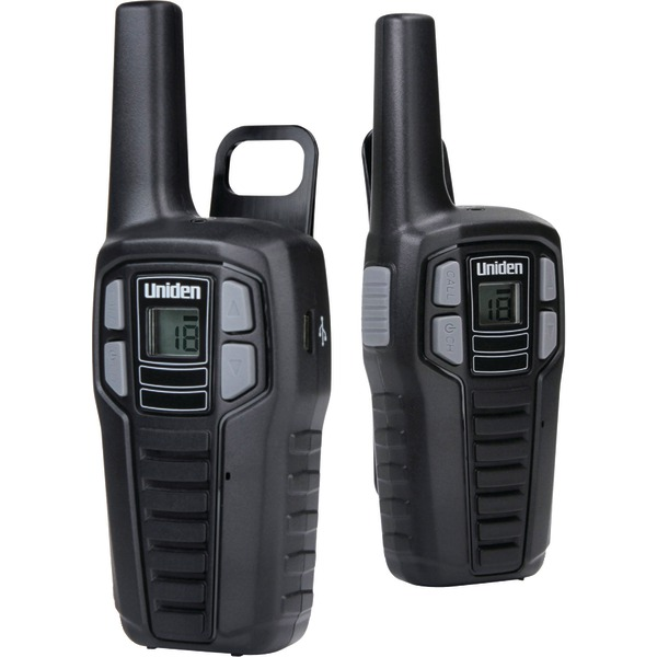 Uniden(R) SX167-2CH 16-Mile 2-Way FRS/GMRS Radios (2 pk; With 6 batteries)