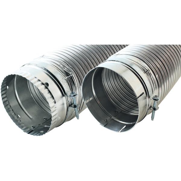 """Builder's Best(R) 110120 4"""" x 8ft Dryer Vent Duct"""