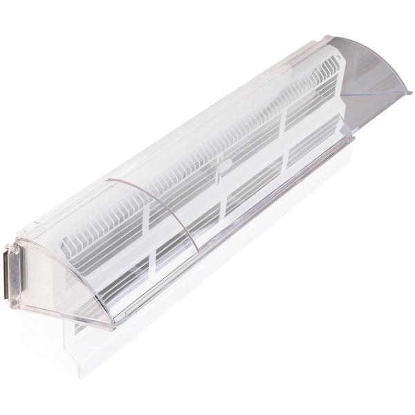 Deflecto(R) 53 Baseboard Register Air Deflector