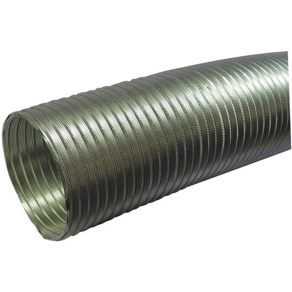 """Deflecto(R) A058/5 Semi-Rigid Flexible Aluminum Duct (5"""" dia x 8ft)"""