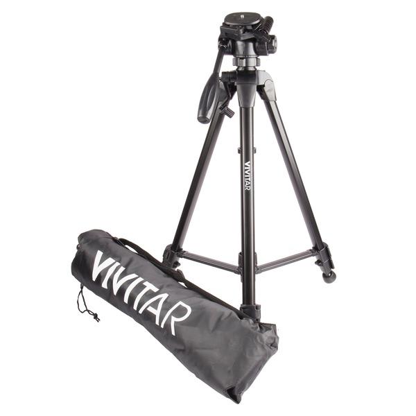 "Vivitar(R) VIV-VPT-3662 Tripod (62"")"