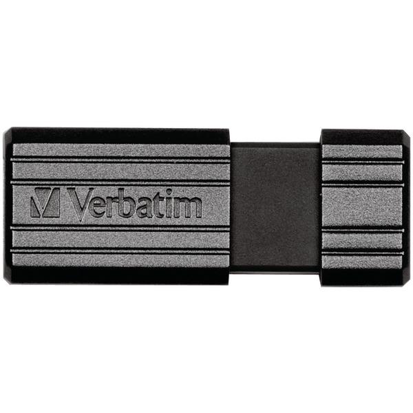 Verbatim(R) 49062 PinStripe USB Flash Drive (8GB)
