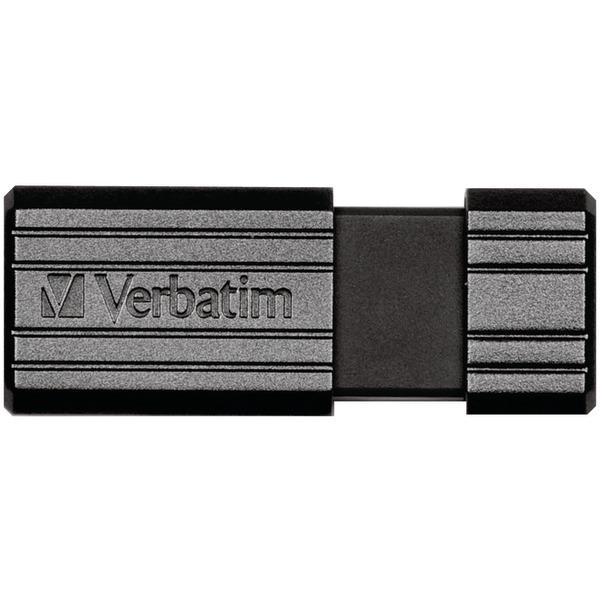 Verbatim(R) 49063 PinStripe USB Flash Drive (16GB)