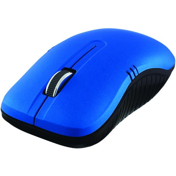 Verbatim(R) 99766 Commuter Series Wireless Notebook Optical Mouse (Matte Blue)