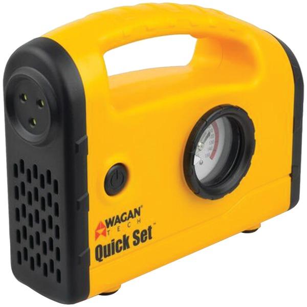 Wagan Tech(R) 7301 Quick Set(TM) Inflator Compressor with Auto Shutoff