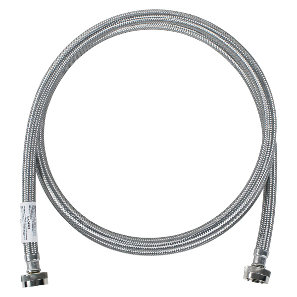 Certified Appliance Accessories(R) WM96SS Braided Stainless Steel Washing Machine Hose, 8ft